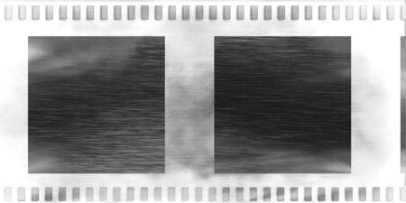 mot: Old negative grunge film strip with some smooth lines