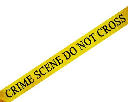 crime scene do not cross: police line photo