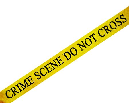 tape line: crime scene do not cross: police line