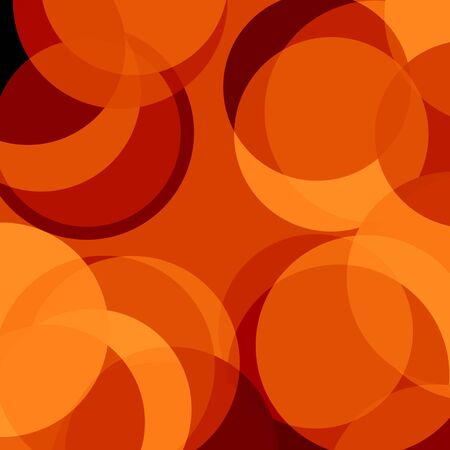 implosion: abstract red background with some circles on it