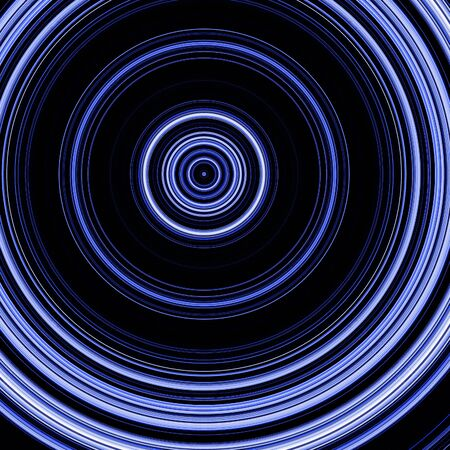 abstract background with blue circles integrated in it photo