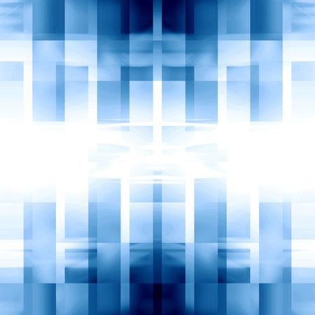 abstract blue background with some smooth lines in it Stock Photo - 3524862