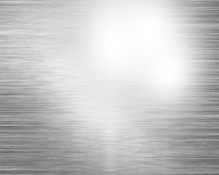inox: metal plate with some reflection in it Stock Photo