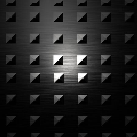 inox: Metal plate with reflected light on it