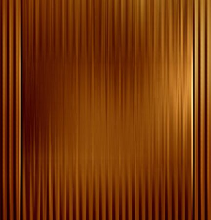 inox: copper or bronze plate with some reflection on it Stock Photo