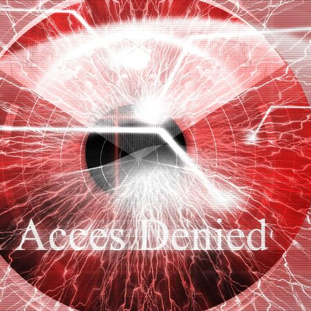 restricted: Access denied after eye scan
