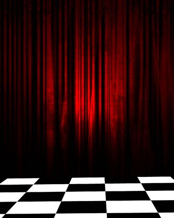 Checkered Curtain Images, Stock Pictures, Royalty Free Checkered ...