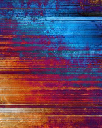 striped grunge background with some damage on it photo