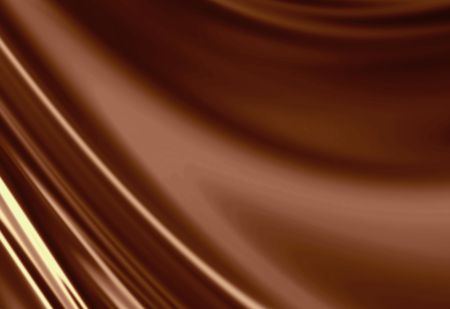 Molten chocolate background with some soft shaded areas