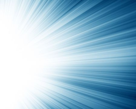 famous writer: blue spotlight with some rays in it Stock Photo
