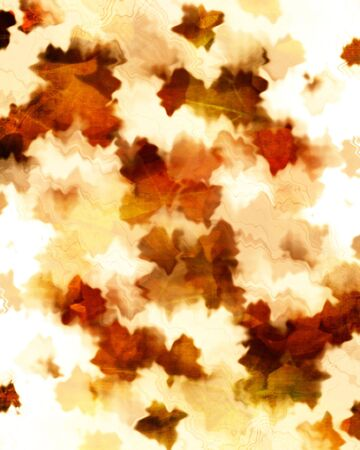 grunge autumn background with some stains on it photo