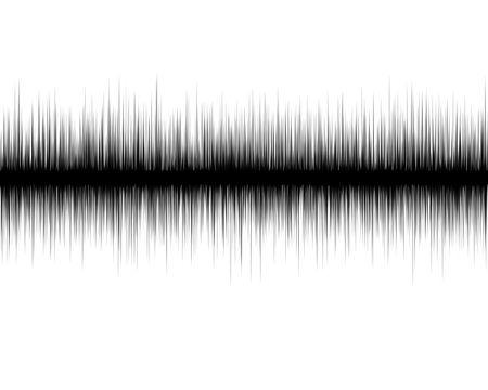quake: earth quake lines on a white background
