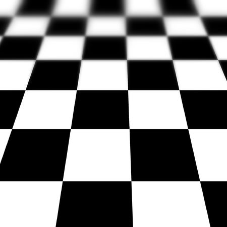 chequer: soft chequered floor in black and white