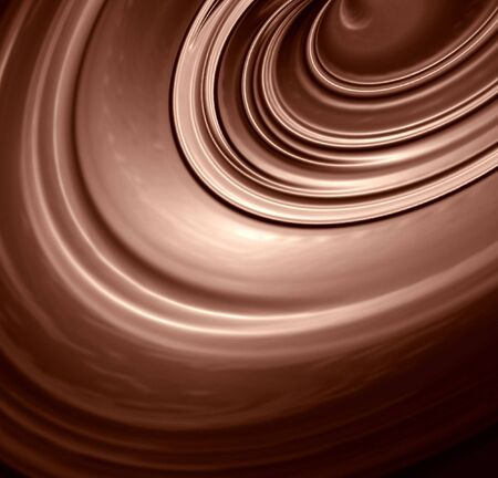 tide: Chocolate swirl with some smooth lines in it