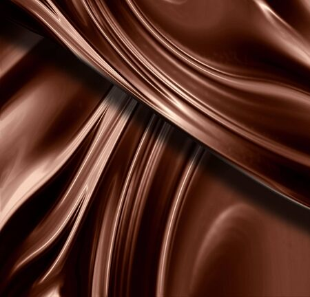 Chocolate swirl with some smooth lines in it photo