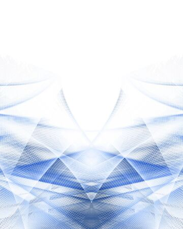 abstract blue background with smooth lines in it Stock Photo - 3909883