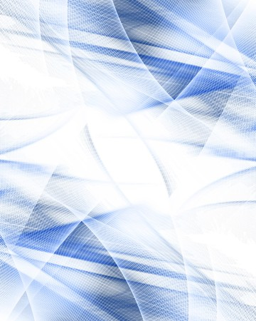 abstract blue background with smooth lines in it Stock Photo - 3934722