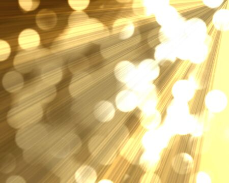 serene: blurred christmas lights on a golden like background