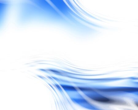 abstract blue background with some smooth lines in it Stock Photo - 3964423