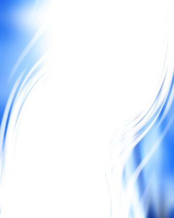 abstract blue background with some smooth lines in it Stock Photo - 3964401