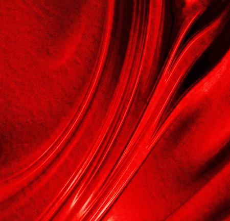 fibres: close up of the fibres of a red carpet