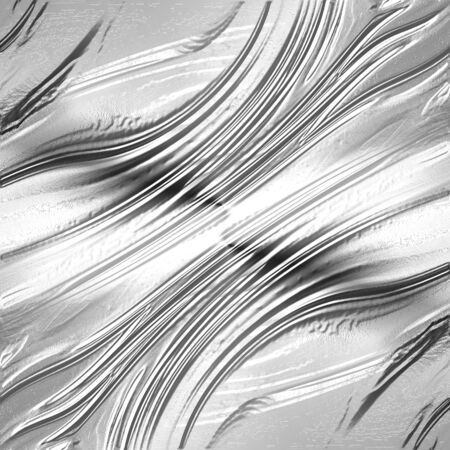 liquid metal with some smooth lines on it photo