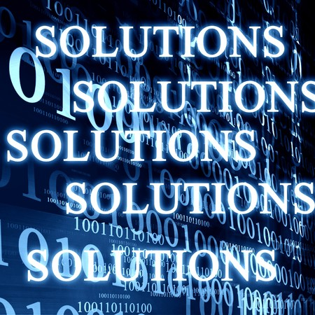 answers highway: bits and bytes on a dark blue background