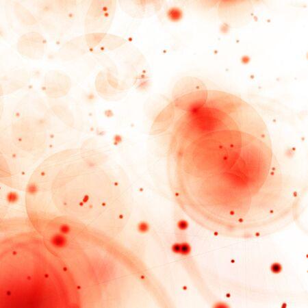 celulas humanas: vista de algunas bacterias o las c�lulas bajo el microscopio