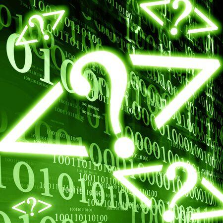 fondo verde oscuro: bits y bytes sobre un fondo verde oscuro