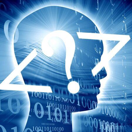 bytes: bits and bytes on a dark blue background