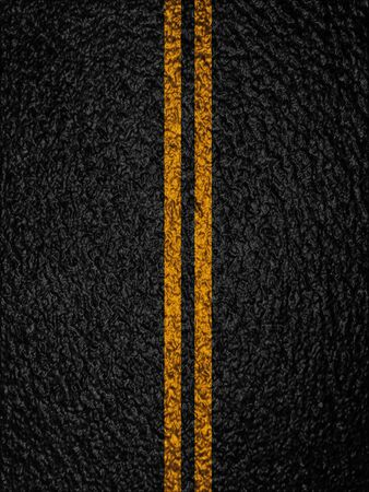 double lane: Asphalt background texture with some soft shades and spots