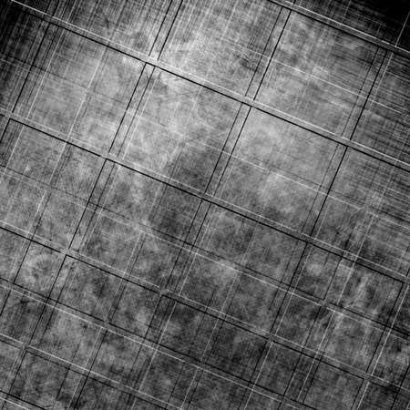 inox: brushed metal plate with reflected light on it Stock Photo