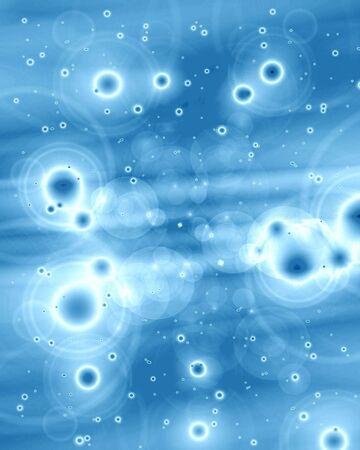 ZELLEN: menschlicher Zellen, wie durch ein Mikroskop Lizenzfreie Bilder
