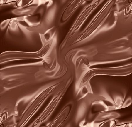 tide: chocolate background with some smooth lines on it Stock Photo