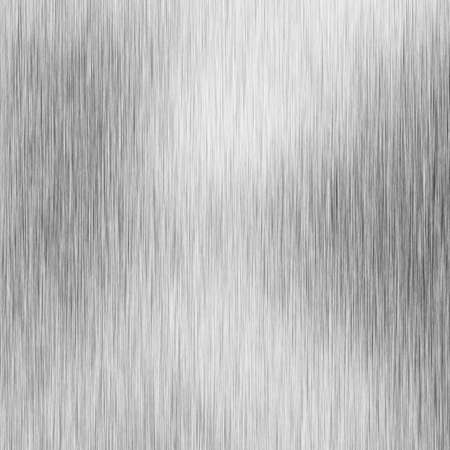 inox: Brushed aluminium metal plate with reflection on it Stock Photo