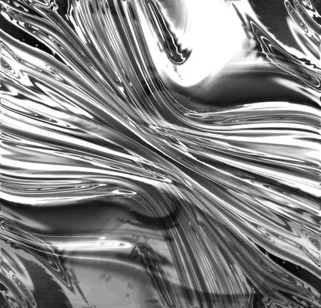 fluent: Silver metallic background with soft reflections on it
