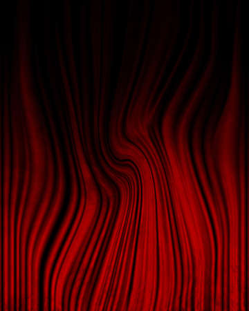 famous writer: Movie or theater curtain with some folds in it