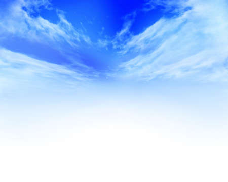 Clouds with open center space for text Stock Photo - 4908194