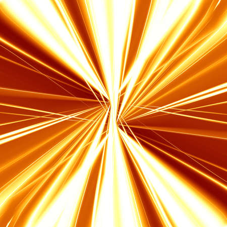 implode: Explosion or fireblast on an orange background Stock Photo