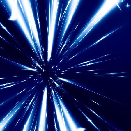 hyper space on a dark blue background 免版税图像