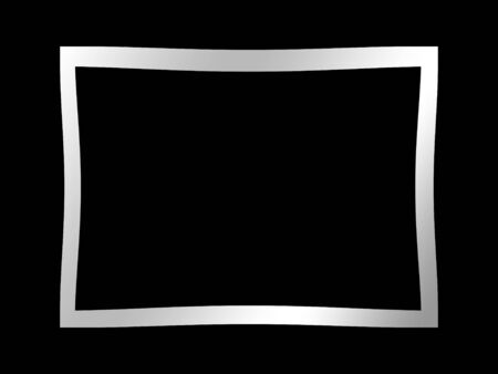 blank picture on a solid black background Stock Photo - 4908102