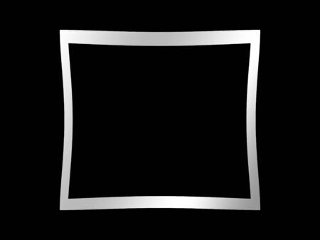 blank picture on a solid black background Stock Photo - 4907552