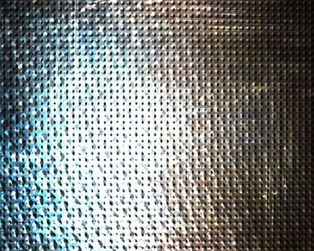 inox: Brushed aluminium metal plate with some reflection on it