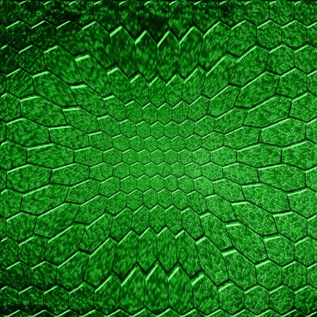 green reptile skin with some damage on it Stock Photo - 5009176