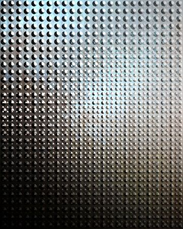 Brushed aluminium metal plate with some reflection on it Stock Photo - 5008983