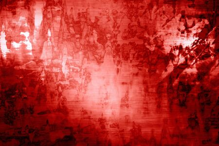 red background with a grunge touch on it photo