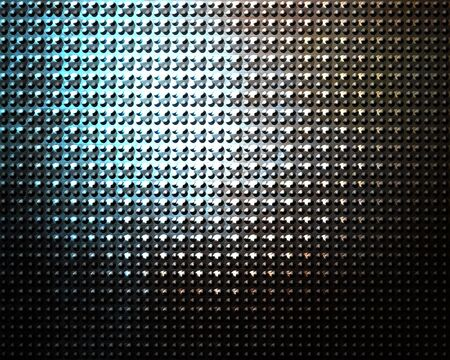 Brushed aluminium metal plate with some reflection on it Stock Photo - 5160891