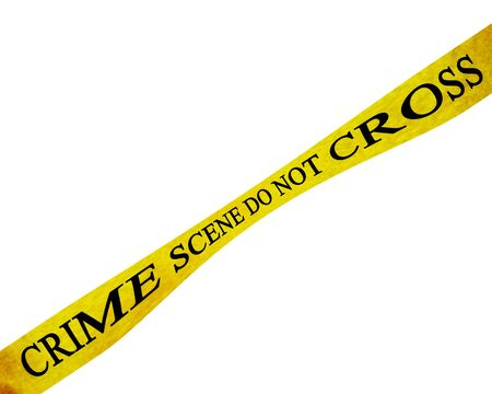crime scene do not cross: police line Stock Photo - 5161051