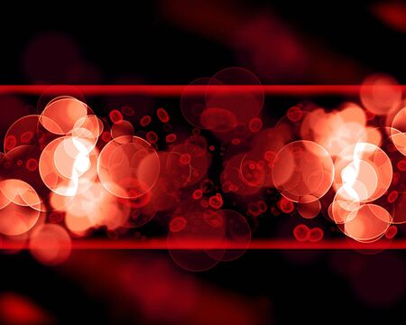 vein with red blood cells in motion Stock Photo - 5398132