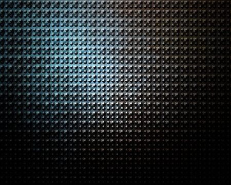Brushed aluminium metal plate with some reflection on it Stock Photo - 5398344